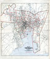 Index Map, New Haven 1911