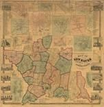 New Haven County 1856 Wall Map - Copy 1, New Haven County 1856 Wall Map - Copy 1