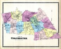 Colchester Town, New London County 1868