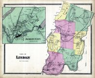 Lisbon Town, Jewett City, New London County 1868