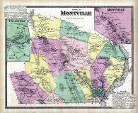 Montville Town, Montville, Uncasville, New London County 1868