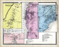 Old Lyme, Groton Bank,  Noank,  Poquonoc, New London County 1868