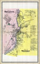 Pawcatuck Plan, Westerly Map, New London County 1868