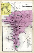 Stonington Plan, Mystic, New London County 1868