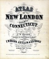 Title Page, New London County 1868