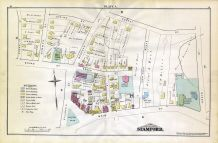 A, Spring St, Crove St, Main St, Franklin St, Stamford and Environs 1879