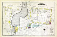 E, Broad St, Atlantic St, Main St, Adams Ave, Stamford and Environs 1879