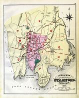 Index Map, Stamford and Environs 1879