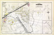 J, Railroad Av, Market Ave, Pacific St, Stamford and Environs 1879