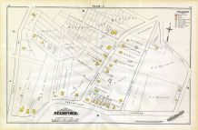 L, Gleenbrook Ave, Cystal Ave, Connecticut Turnpike, Crove St, Stamford and Environs 1879