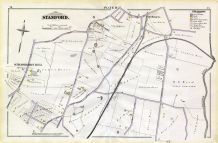 R, New Hope St, Norton River, Crystal Av, Strawberry Hill Ave, Stamford and Environs 1879
