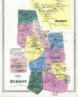 Hebron Town, Turnerville, Hebron, Tolland County 1869