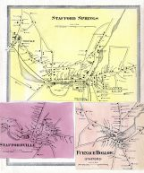 Stafford Springs, Staffordville, Furnace Hollow - Stafford, Tolland County 1869