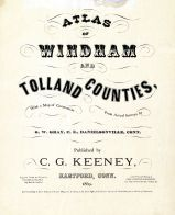 Title Page, Tolland County 1869