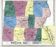 Tollad Town, Tolland, Tolland County 1869