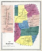 Hampton Town, Hampton, Windham County 1869