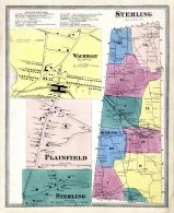 Sterling, Wauregan, Plainfield Town, Sterling Town, Windham County 1869
