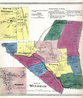 Windham South, South Windham, Windham Town, Windham, Windham County 1869