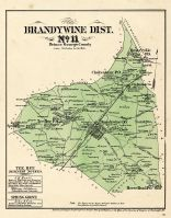 Prince George County - District 11 - Brandywine City, Tee Bee, Cheltenham, Rosaryville, Horse Head, Washington D. C. and Prince George County Maryland 1878
