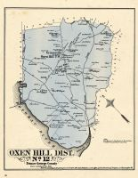 Prince George County - District 12 - Oxen Hill, Grimesville, Washington D. C. and Prince George County Maryland 1878