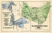 Prince George County - District 2 - Bladensburg, Hyattsville, Bladensburgh, Washington D. C. and Prince George County Maryland 1878