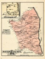 Prince George County - District 4 - Nottingham, North Keys, Croome, Washington D. C. and Prince George County Maryland 1878