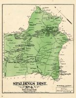 Prince George County - District 6 - Spaldings, Silver, Forestville, Oakland, Suitland, Allentown, Washington D. C. and Prince George County Maryland 1878