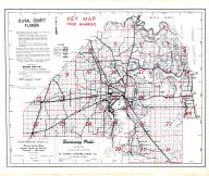 Index Map, Duval County 1950 Revised 1953