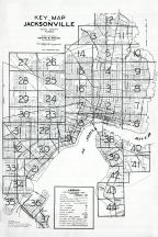 Index Map, Jacksonville and Environs 1940c Revised 1947