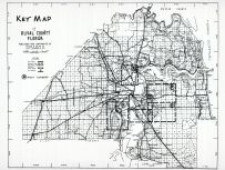 Index Map - Duval County, Jacksonville and Environs 1940c Revised 1947