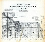 Title Page and Index Map, Orange County 1958