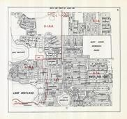 Orlando Winter Park Maitland And Vicinity 1968 Subdivision Florida Historical Atlas