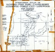Title Page and Index Map, Seminole County 1961