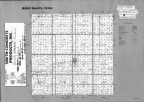 Index Map, Adair County 1993
