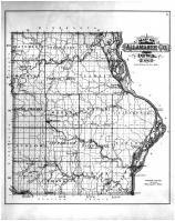 County Map, Allamakee County 1886 Version 2