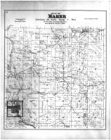 Makee Township, Waukon, Lycurgus, Allamakee County 1886 Version 2