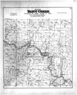 Paint Creek Township, Waterville, Allamakee County 1886 Version 2