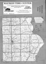 Index Map, Allamakee County 1993