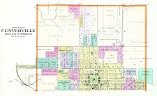Centerville - North, Appanoose County 1896