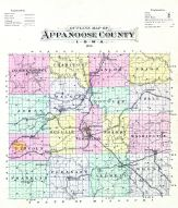 County Outline, Appanoose County 1896