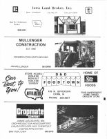 Cropmate Company, Mullenger Construction, Iowa Land Broker, Inc.
