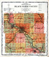 Topographical Map, Black Hawk County 1910