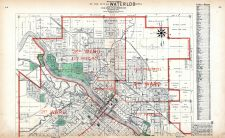 Waterloo City - North, Black Hawk County 1910