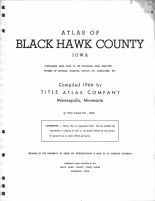 Title Page, Blackhawk County 1966