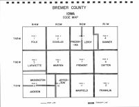 Index Map, Bremer County 1997