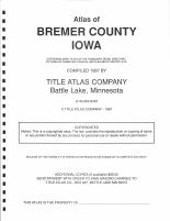 Title Page, Bremer County 1997