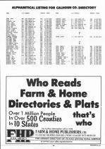 Landowners Index 016, Calhoun County 1993