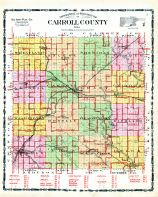 County Map, Carroll County 1906