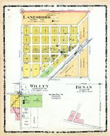 Lanesboro, Willey, Benan, Carroll County 1906