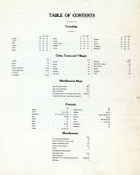 Table of Contents, Carroll County 1906